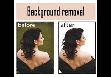 I will do Professionally remove and change any images background super fast/ products images editing