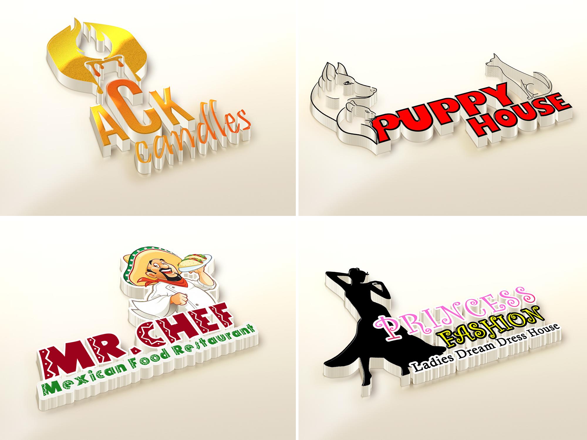I will design modern creative versatile logo design