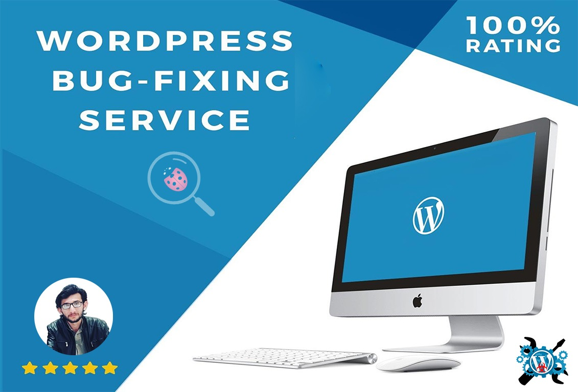 i will remove bugs of wordpress website