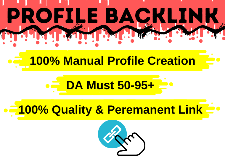 i will do 30 high quality profile backlink in high authority website