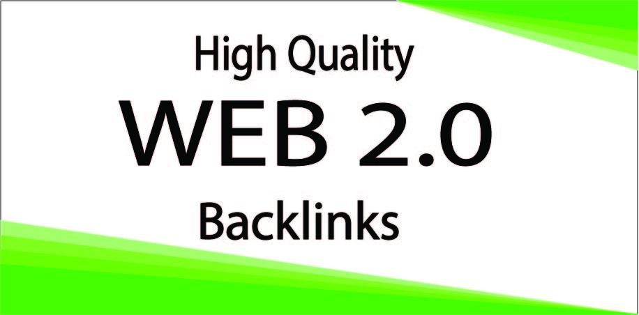 I Will Create 20 Web 2.0 On High-Quality Backlinks