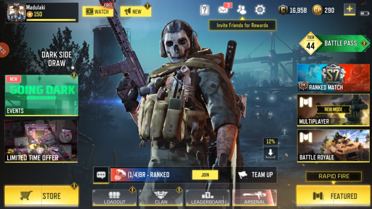 Game boosting and account selling pubg, cod mobile