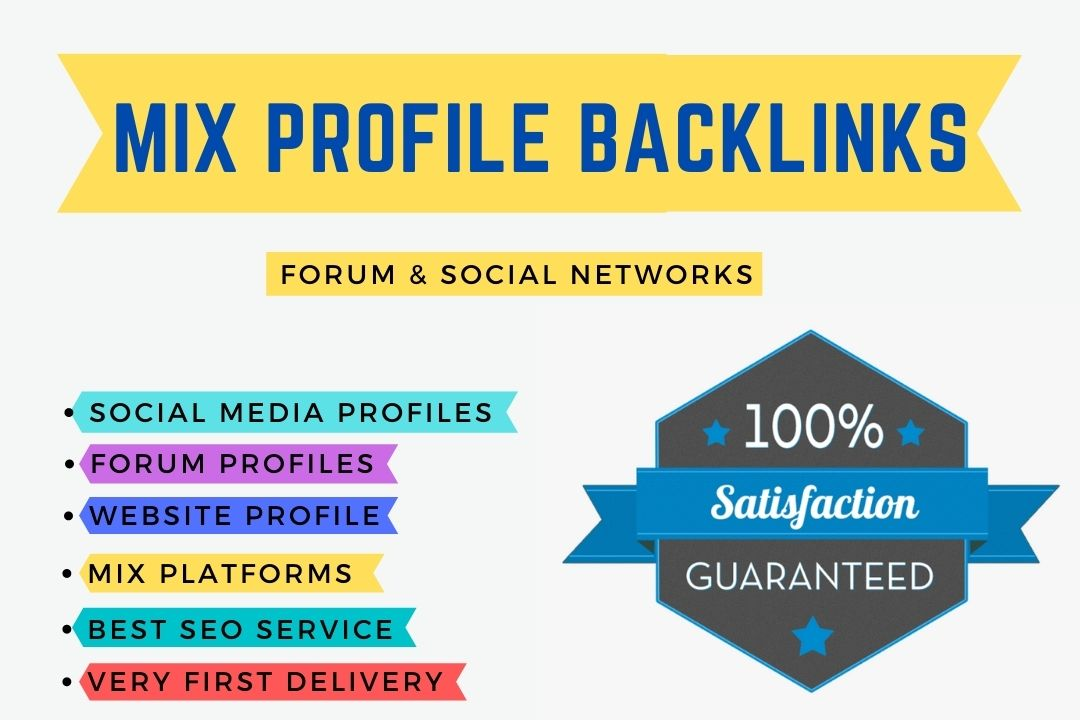 I will write 500+ Mix Profile Backlinks forum and social network