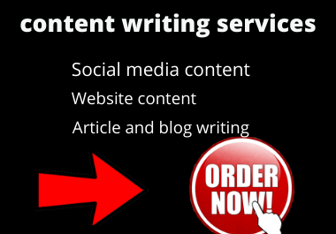 Write 1000+ words high quality SEO friendly Article,  Blog posts,  Content writing for your website