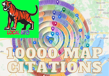 10,000 google map citation manually in 24 hours