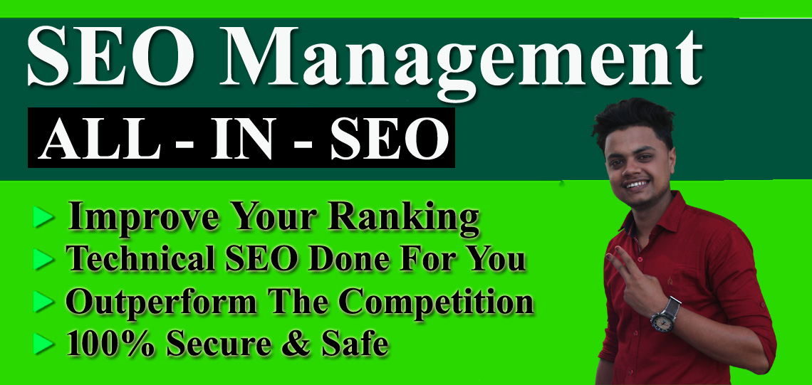 I will do SEO management for your website