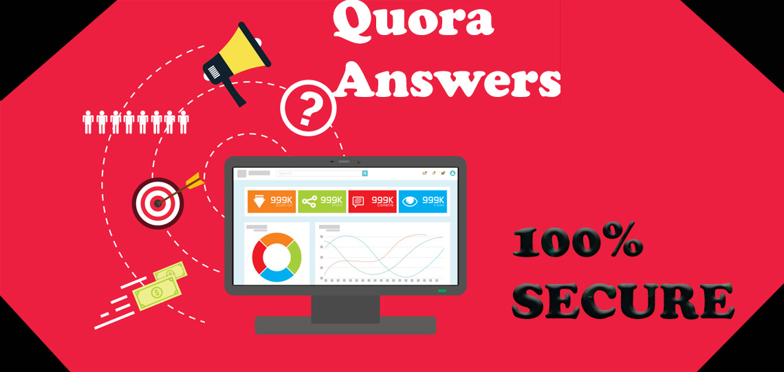 I will Give Niche Relevant Traffic with 10 Quora Answers 100 unique