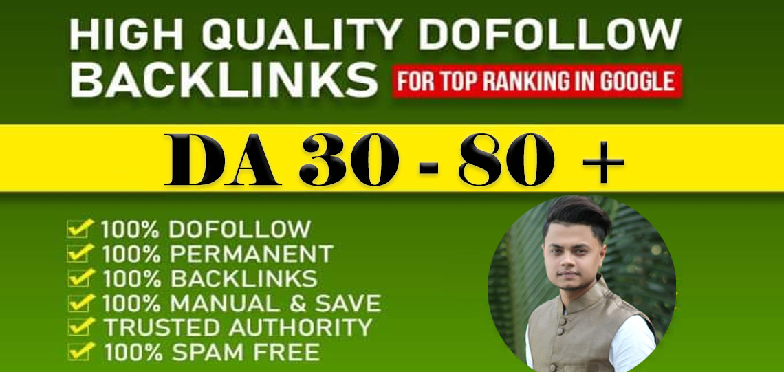 I will build 250 high quality dofollow SEO backlinks link building google top ranking