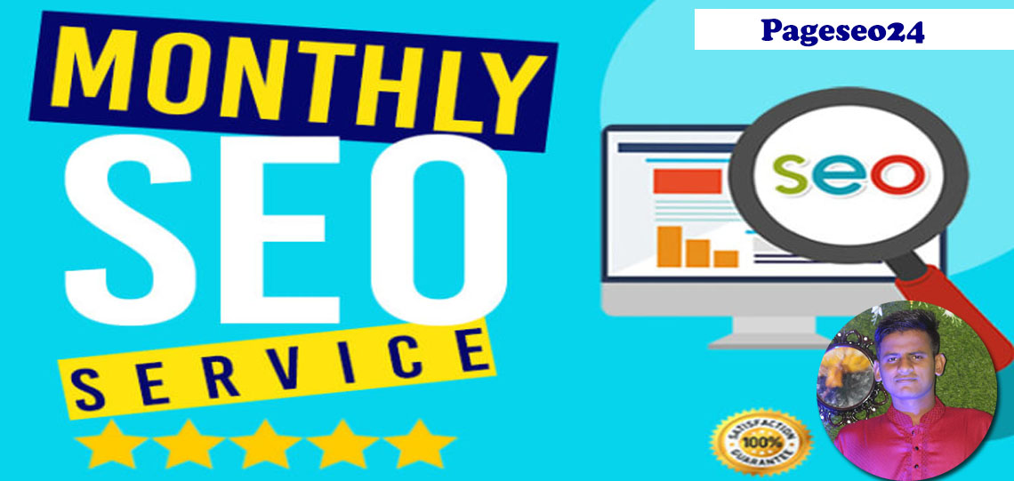 I will deliver a complete monthly SEO service with backlinks for google first page ranking