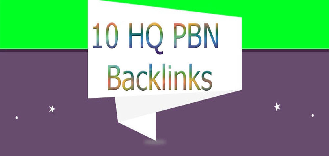 Build 10 High PA DA TF CF Homepage PBN Backlinks - Do follow Quality Links