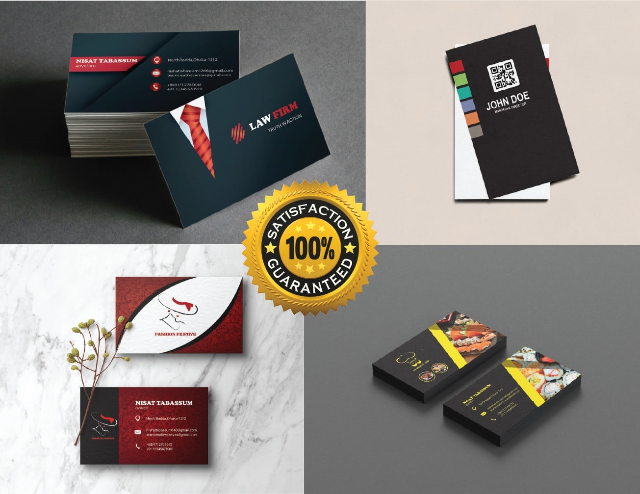 I will design modern unique professional business cards,  stationery and brand identity
