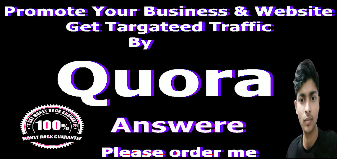 10 Quora answers Backlink with Unique articles.