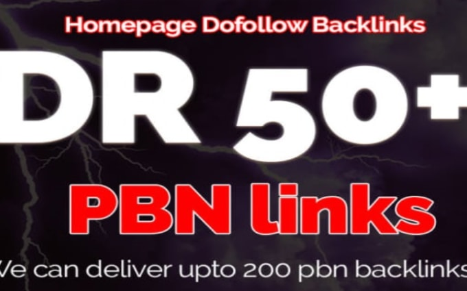 I will build 50 High DR 50 SEO white hat manual dofollow contextual backlinks