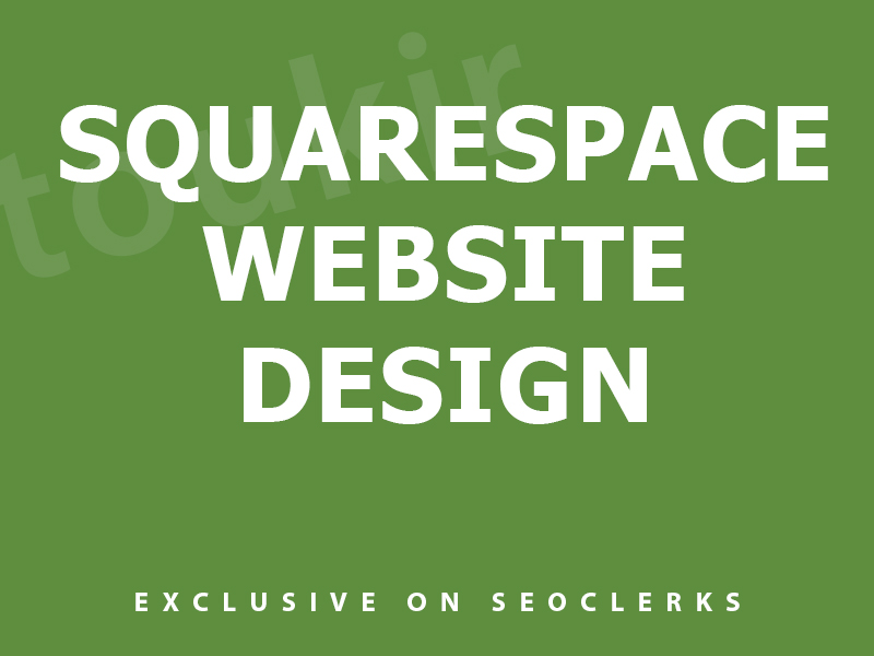 I will do pro squarespace website design or squarespace redesign
