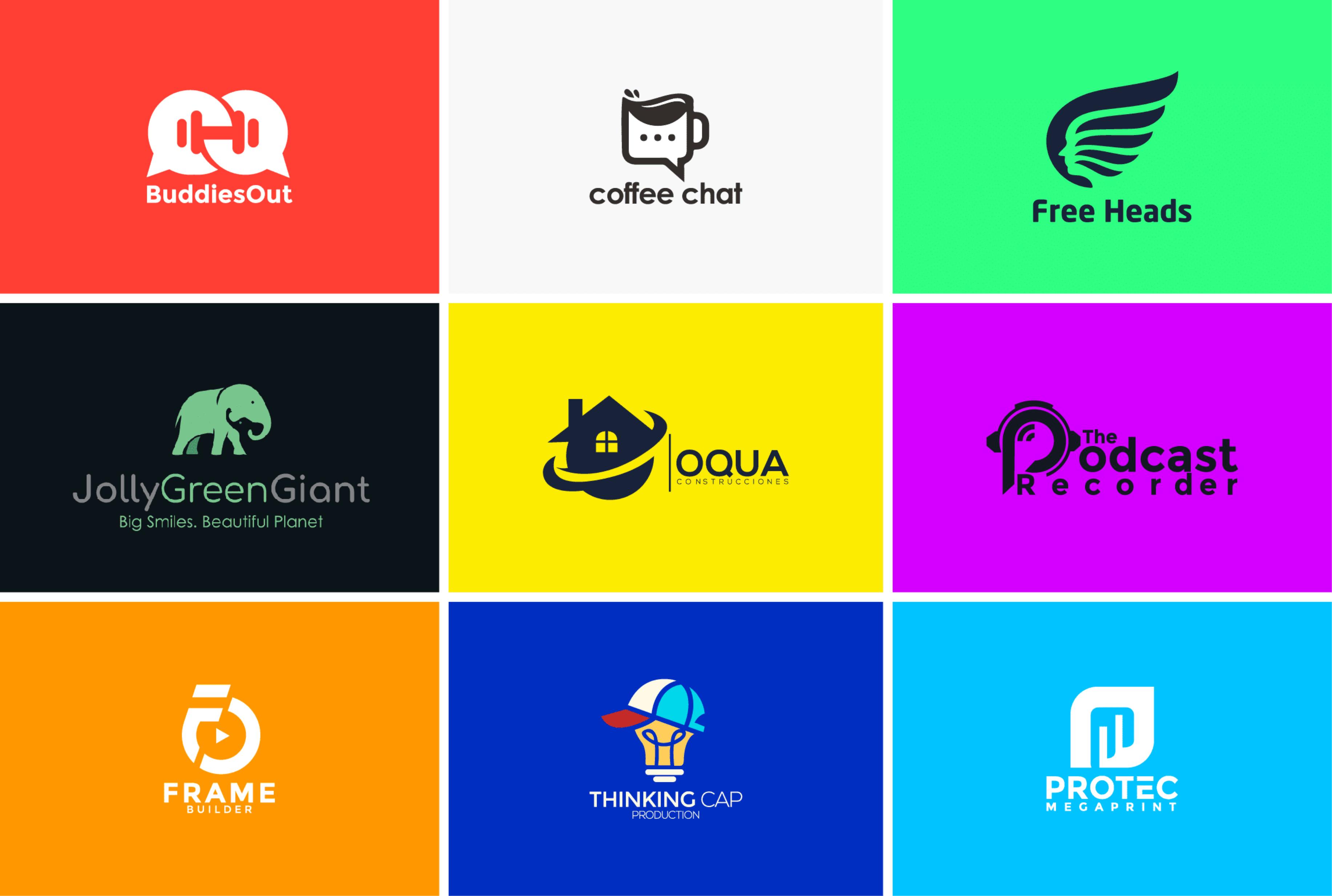 I will do 3 unique minimalist logo design