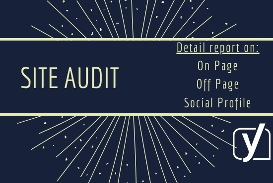 I will provide a complete report of your WordPress site by SEO audit