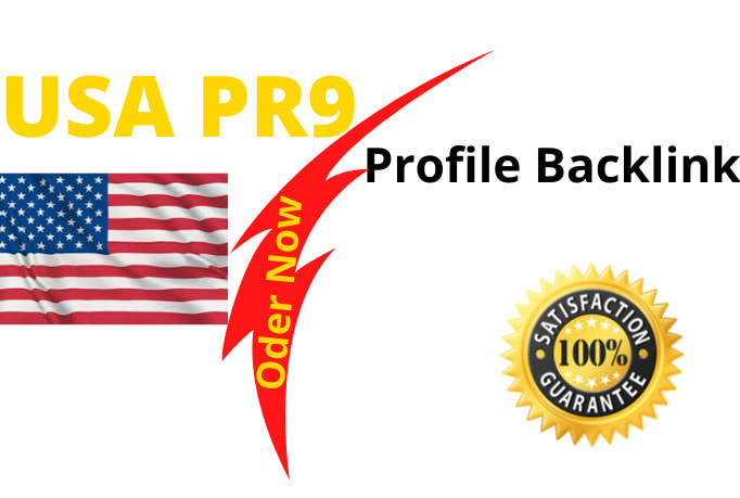 create 100 USA pr9 profiles backlinks