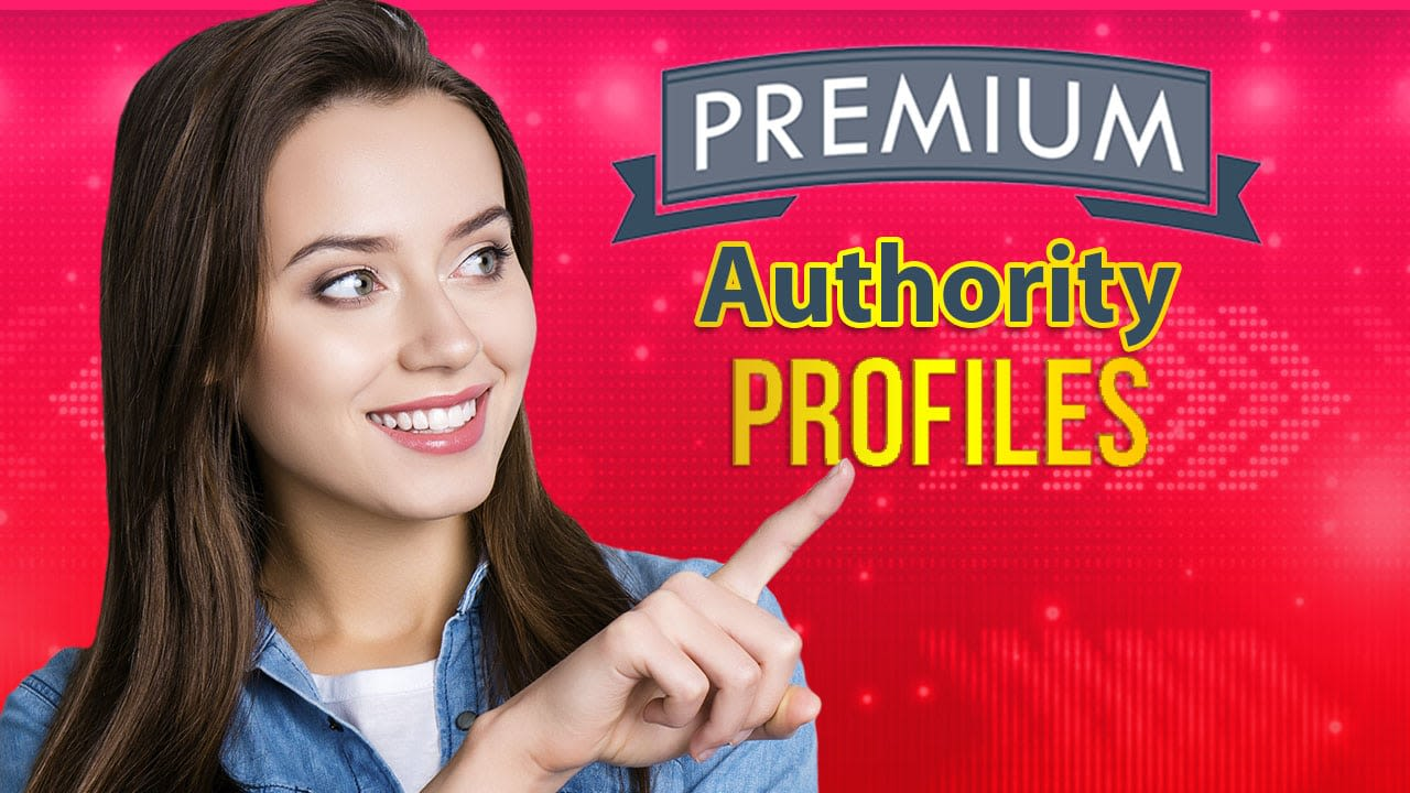 Manually 300 high authority Powerful Profile Backlinks