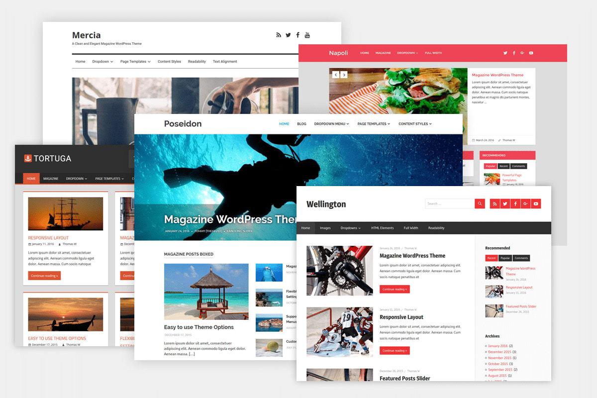 I will create eye catching wordpress design within 24 hours