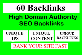 Create 60+ Web2.0 Blog High DA Dofollow Unique Backlinks To Rank You on Google