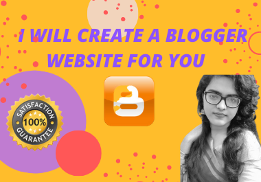 I Will Create A Mindblowing Blogger Website With Full SEO Optimization