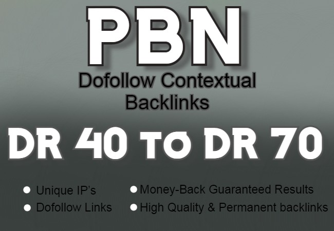 I will Provide 100 boost ranking dofollow high DR homepage backlinks