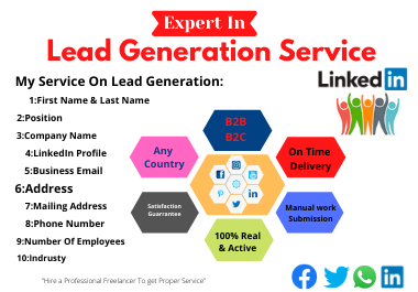 I will do b2b lead generation and web research properly