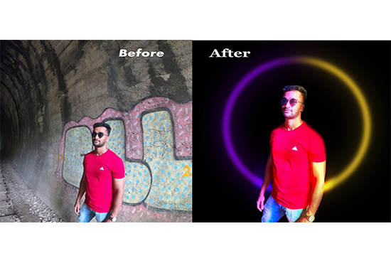 I will do professional photo editing