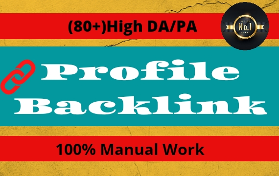 I Will Create High Authority SEO Profile Backlinks