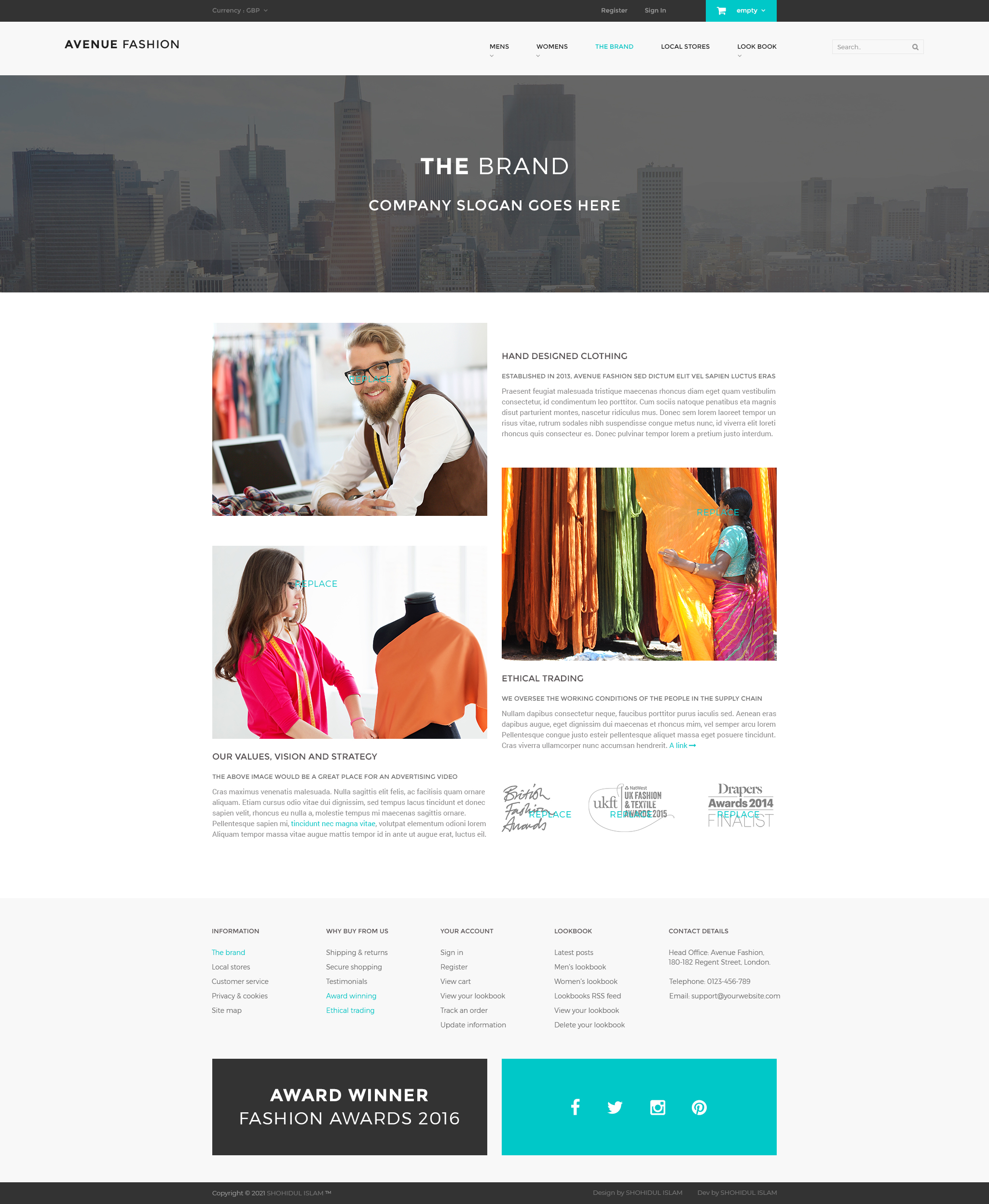 I will design responsive wordpress website or landing page with elementor pro
