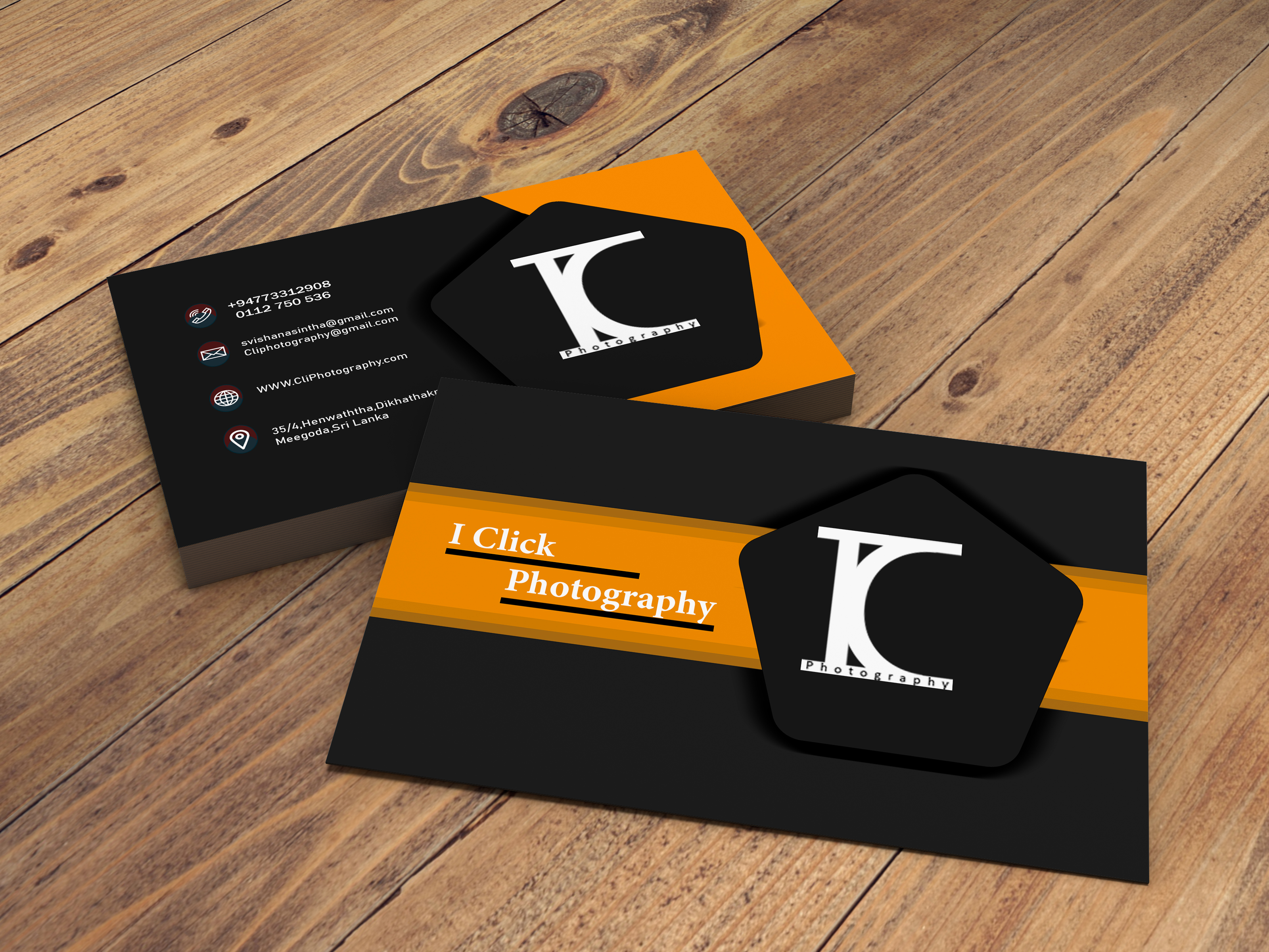 I will do cool business card design
