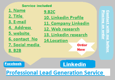 Generate lead with me and grow your business