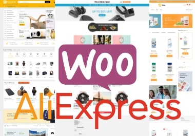 I will develop Aliexpress Drop shipping WordPress store for you