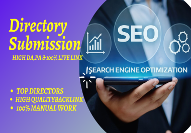 I will do 50 powerful manual directory submission backlinks