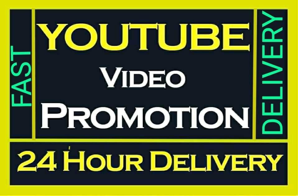 High Retention Youtube Video Promotion Social Media Marketing
