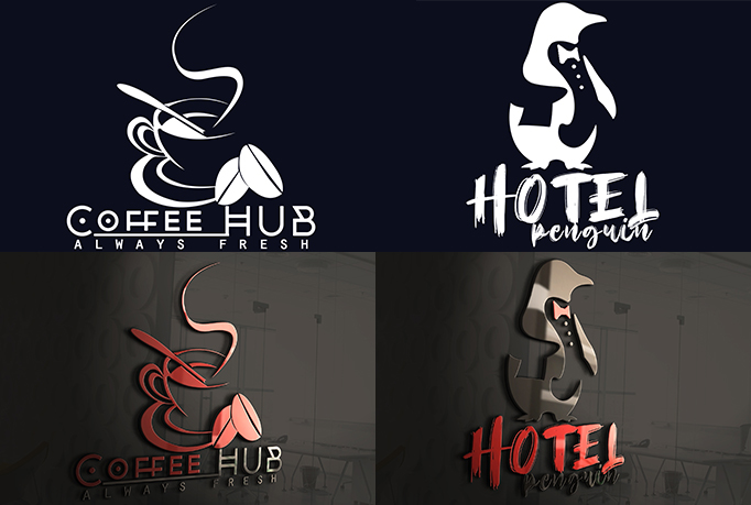 I will design a creative logo design for business and more