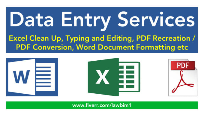 I will be your 3 hours virtual assistant for data entry,  web research