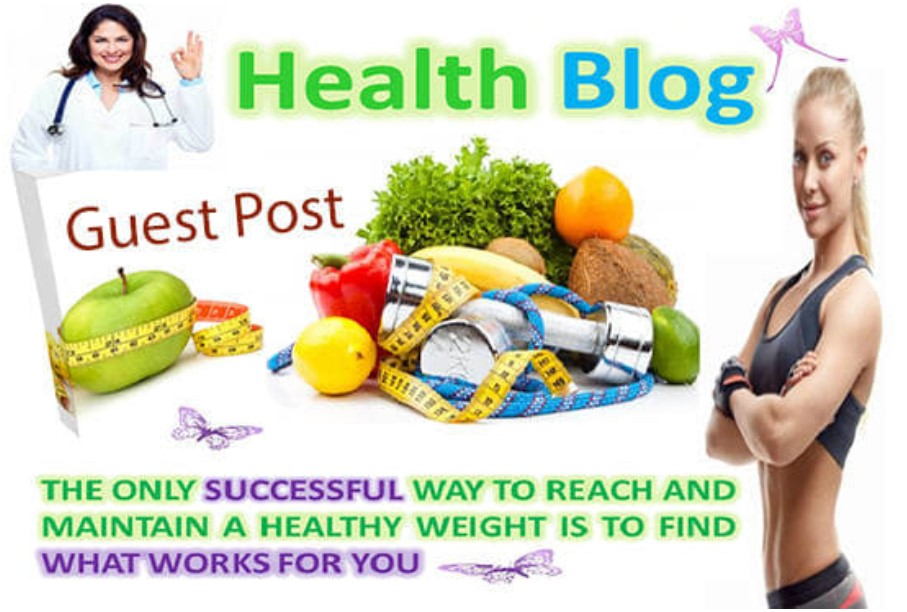 I will publish a guest post on health blog