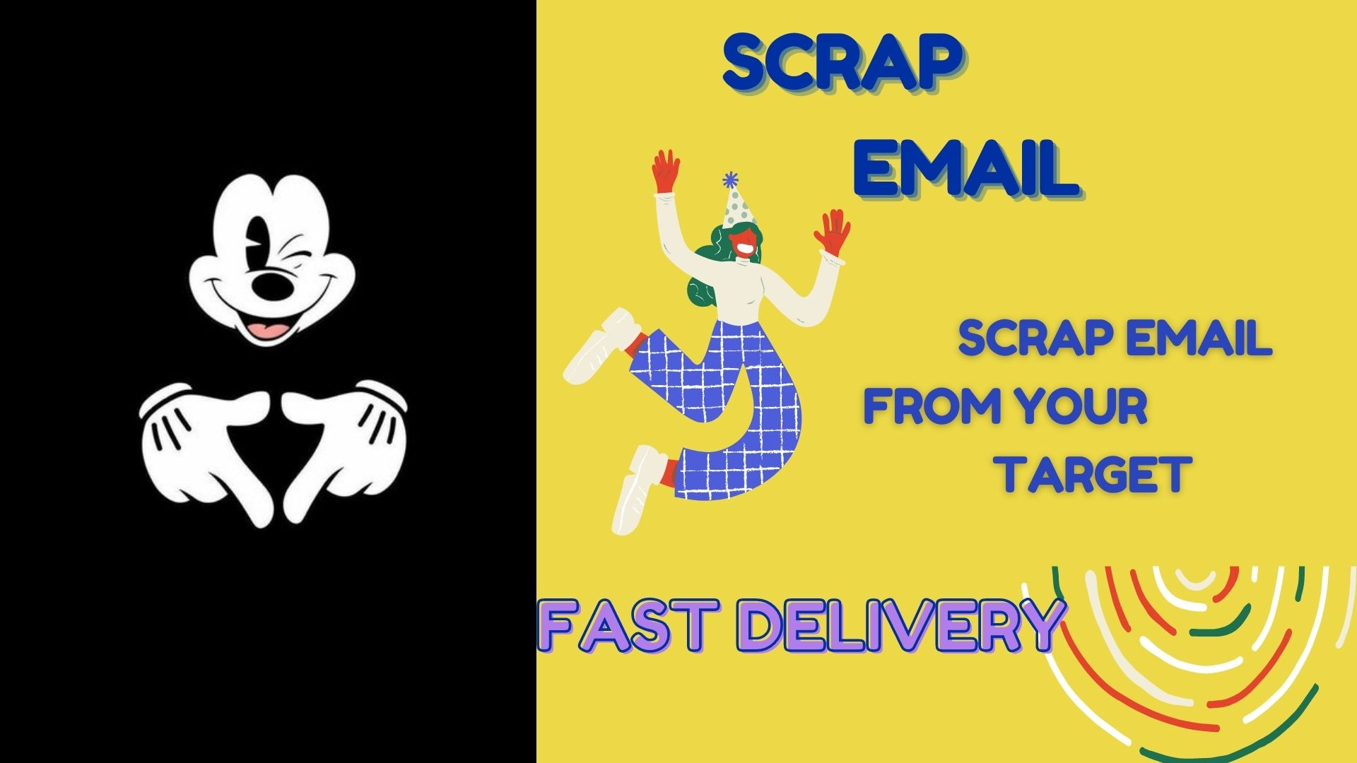 I will do perfect data entry for targeted email collection in just 1 hour