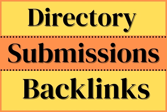 I will provide 50 directory submissions backlinks
