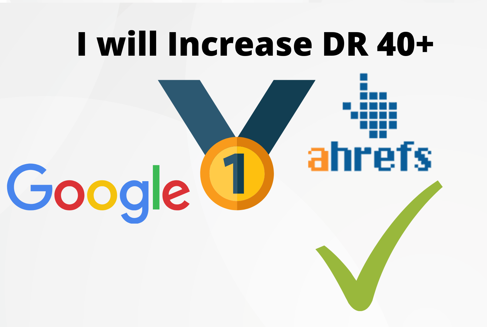 i will increase domain rating on ahref 40+ permanent grunteed