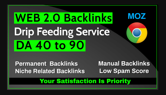 I will make 50 high authority web 2 0 backlinks