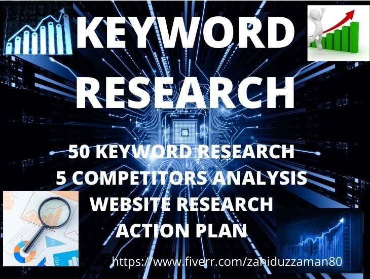 I will do exelllent SEO keyword research and competitor analysis