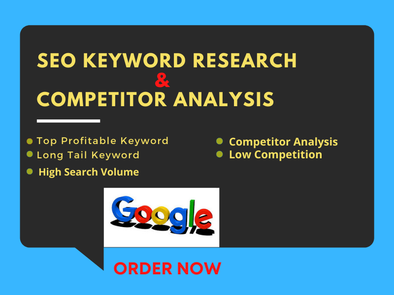 I will do SEO keyword research and competitor analysis for your business