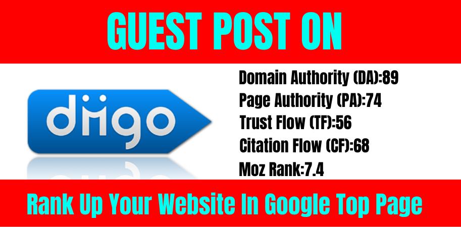 Write and publish A guest posts on diigo. com DA 89,  PA 74 SEO Backlinks