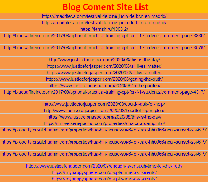 I Will Manually Create 550 Dofollow Blog Comments Backlinks On High DA-PA