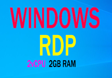 Providing Renewable Windows VPS Along 2GB Ram