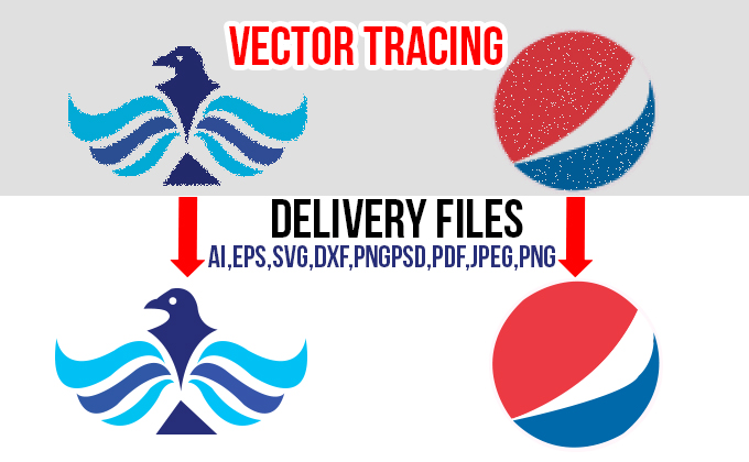 I will vectorize logo,  vector tracing,  convert image to vector in 3hrs