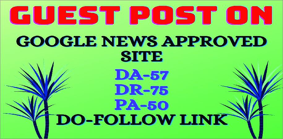 guest post on da 60 google news approved permanent dofollow backlinks