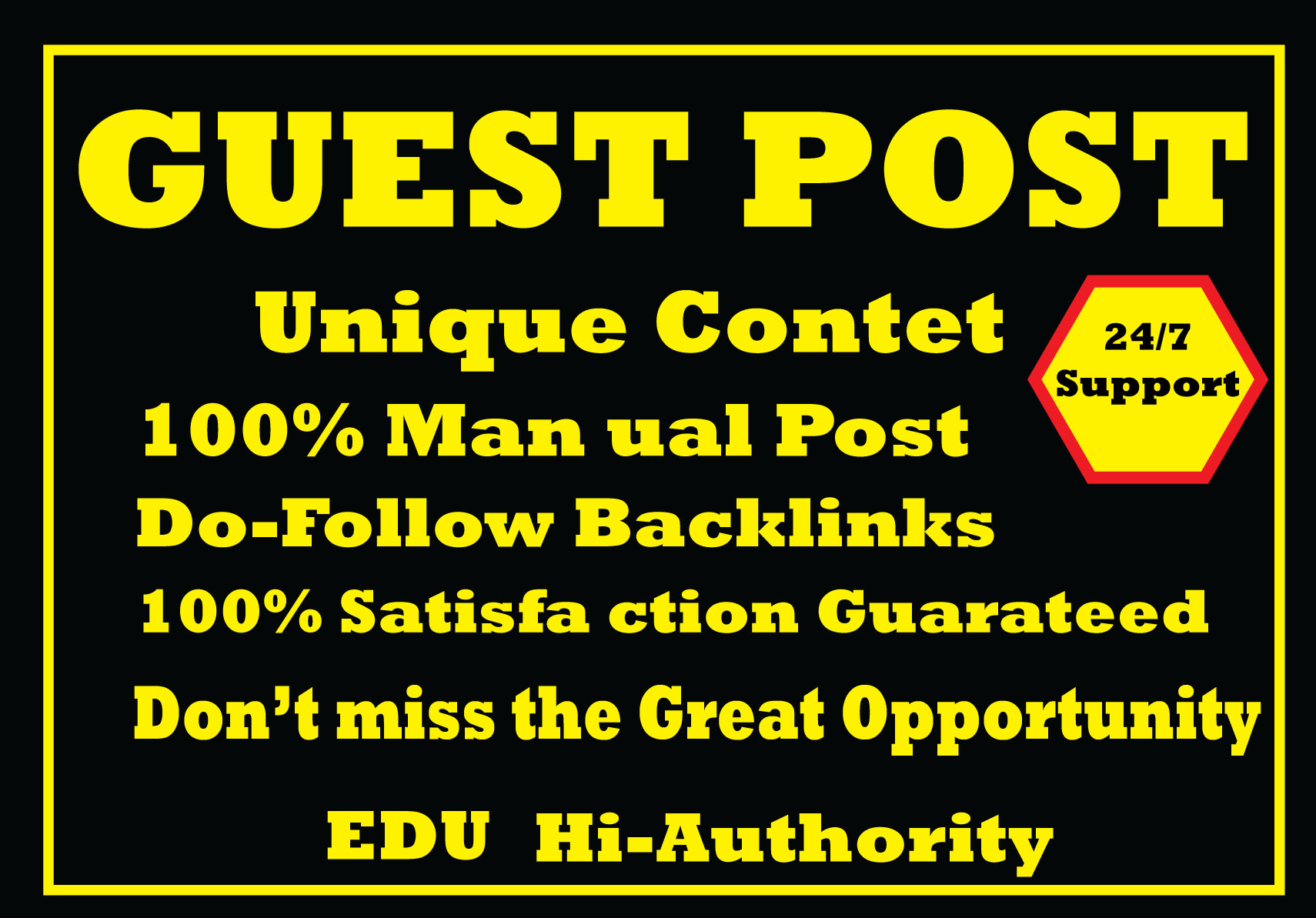 I will write and publish guest 5 post in high authority website